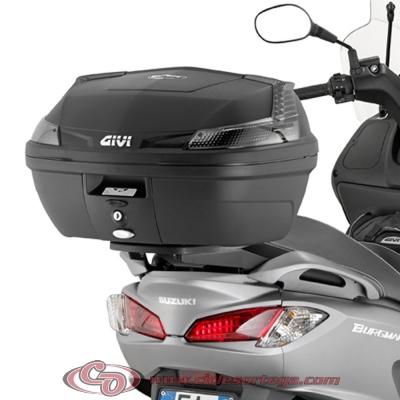 Kit Anclajes Givi SR3106 para BAUL sistema monolock SUZUKI BURGMAN 125 07-13
