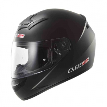 Casco integral LS2 FF352 ROOKIE SOLID Negro Mate