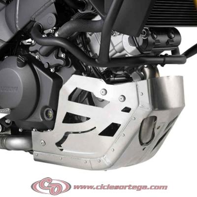 Cubrecarter aluminio RP3105 de Givi para SUZUKI DL V-STROM 1000 2014-