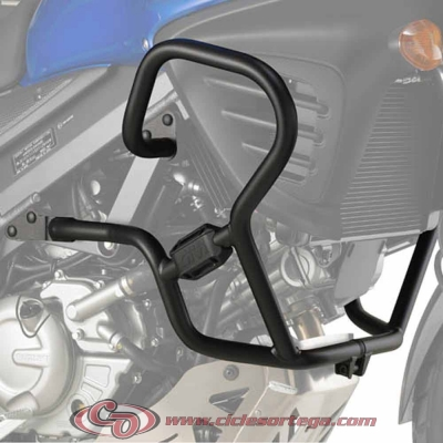 Defensas salvapiernas TN3101 de Givi para SUZUKI DL V-STROM 650 2012-