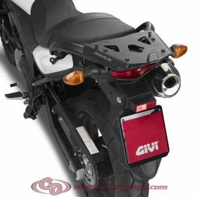 Kit Anclajes Givi SRA3101 para BAUL sistema monokey SUZUKI DL V-STROM 650 2012-
