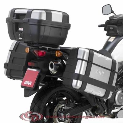 Kit Anclajes Givi SR3101 para BAUL monokey SUZUKI DL V-STROM 650 2012-