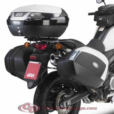 Kit anclajes maletas laterales V35 Givi PLX3101 Monokey SUZUKI DL V-STROM 650 2012-
