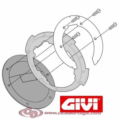 Adaptador Givi BF01 bolsa depósito TANKLOCK SUZUKI DL V-STROM 650 2012-