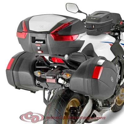Kit Anclajes 1137FZ + M5 Givi para BAUL sistema monokey HONDA CB650F 2014-