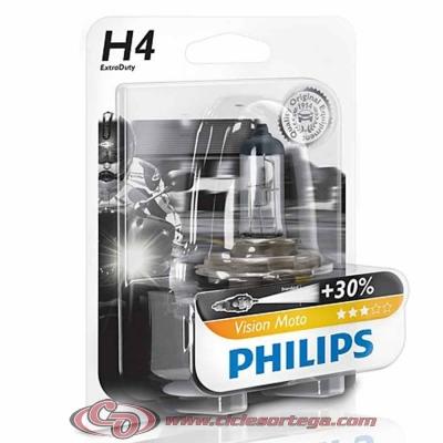 Lámpara HS1 12v 35/35w Vision Moto +30% de luz de Philips