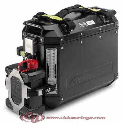 Soporte E148 para bidón TAN01 maletas laterales TREKKER OUTBACK de Givi