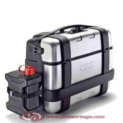 Soporte E149 para bidón TAN01 maletas laterales TREKKER TRK33 TRK46 de Givi