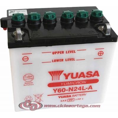 Bateria YUASA Y60-N24L-A