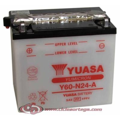 Bateria YUASA Y60-N24-A