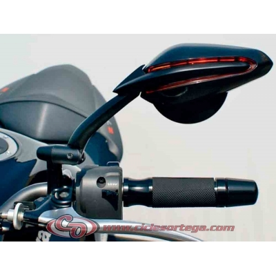 Par espejos retrovisores Universales M-8x125 Super Viper de FAR Homologados