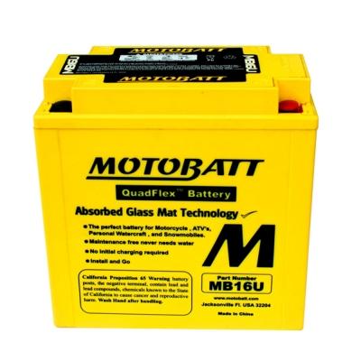 Bateria de Gel MB16U equivalente a YB16B-A de Motobatt