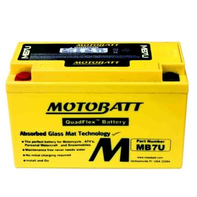 Bateria de Gel MB7BB equivalente a YB7B-B de Motobatt