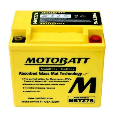 Bateria de Gel MBTZ10S equivalente a YTX7A-BS de Motobatt
