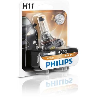 Lámpara H7 12v 55w Vision Moto +30% de luz de Philips