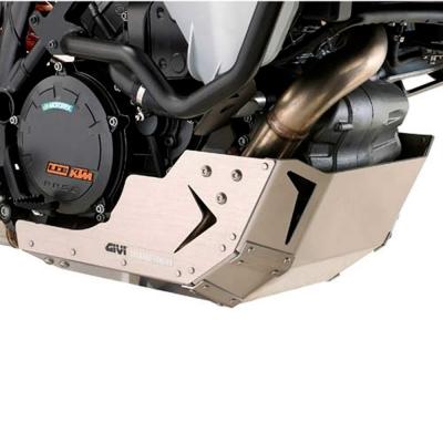 Cubrecarter aluminio RP6403 de Givi para TRIUMPH TIGER 1200 EXPLORER 2012-