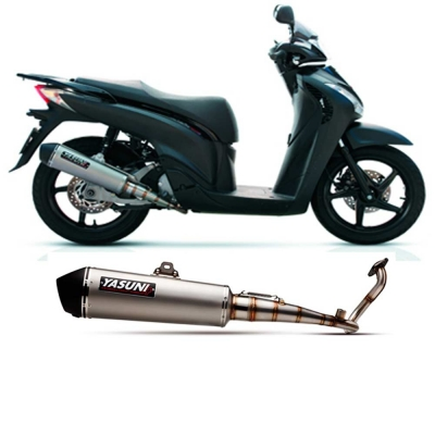 Escape MAXISCOOTER 4T TUB453 de Yasuni para PIAGGIO BEVERLY 125ie 2011-