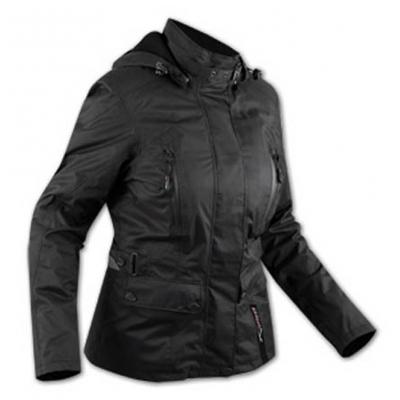 Chaqueta APRO Paris Lady Textil impermeable negra