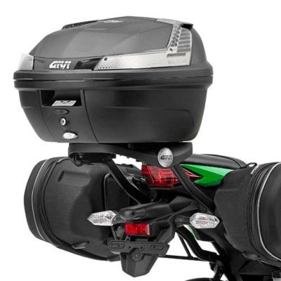 Kit Anclajes Givi 4108FZ+M5M para BAUL sistema monolock KAWASAKI NINJA 300 2012-