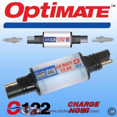 Avisador de recarga Standard SAE 123 de Optimate