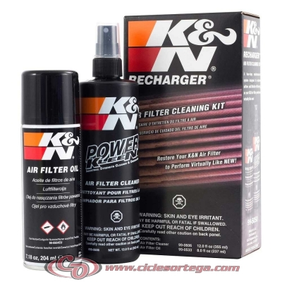 Filtro de aire reutilizable KN YA-6004 de K&N YAMAHA FZ6 S FAZER 04-10