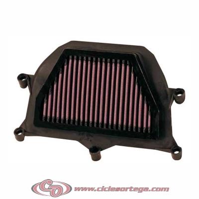 Filtro de aire reutilizable KN YA-6001 de KN YAMAHA YZF-R6 06-07