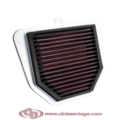 Filtro de aire reutilizable KN YA-1001 de KN YAMAHA FZS FAZER 1000 01-05