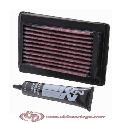 Filtro de aire reutilizable KN YA-1006 de KN YAMAHA FAZER FZ8 N 2010-