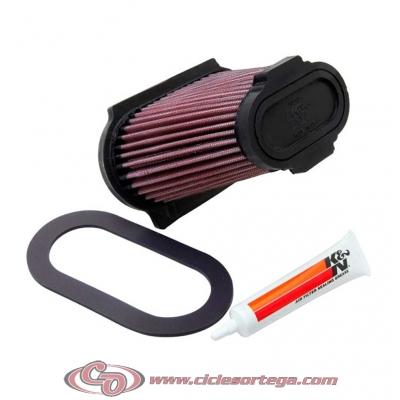 Filtro de aire reutilizable KN YA-6601 de KN YAMAHA YFM660R RAPTOR 2001-