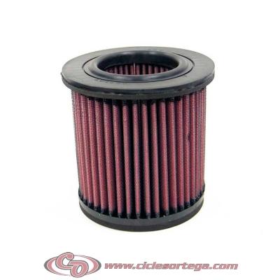 Filtro de aire reutilizable KN YA-6092 de KN YAMAHA XJ600 DIVERSION S/N 91-99