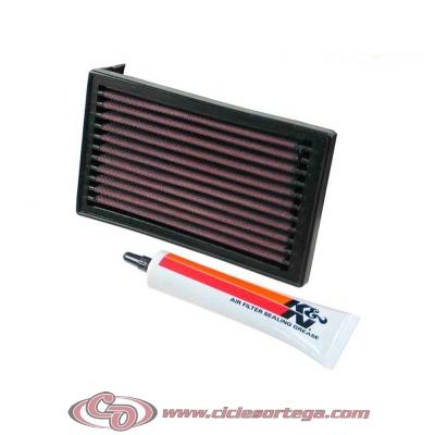 Filtro de aire reutilizable KN YA-6090 de KN YAMAHA XTZ660 TENERE 1993-1998