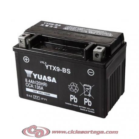 Bateria YUASA YTX9-BS Original Yamaha
