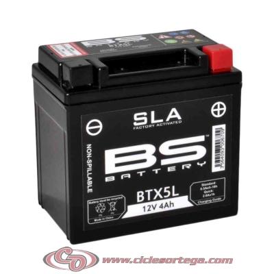 Bateria lista para usar BTX4L FA equivalente YUASA YTX4L-BS de BS BATTERY