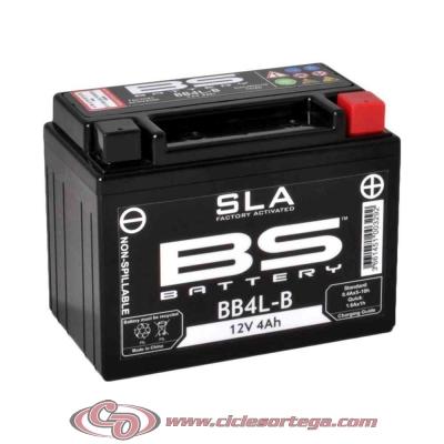 Bateria lista para usar BTX14 FA equivalente YUASA YTX14-BS de BS BATTERY