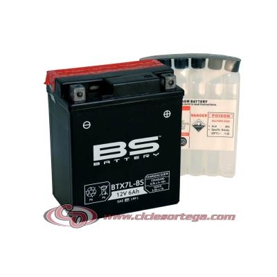 Bateria BS BATTERY BTX7L-BS (compatible con YTX7L-BS) ACTIVADA