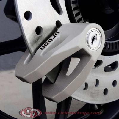 Candado antirrobo para disco 6 mms. plata UR206T Urban de ARTAGO