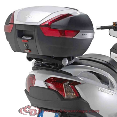 Kit Anclajes Givi SR92M para BAUL sistema monolock KYMCO SUPERDINK 125 2010-