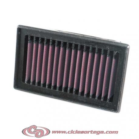 Filtro de aire reutilizable KN YA-3504 de KN YAMAHA YFM450FX WOLVERINE 2006-