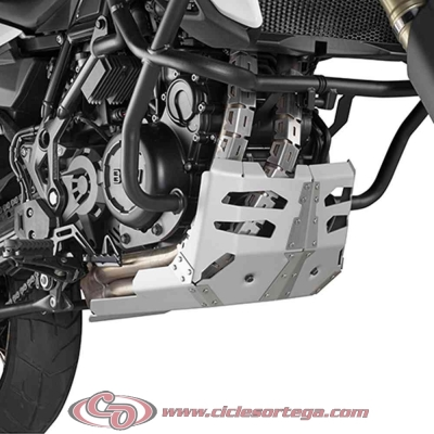 Cubrecarter aluminio RP5103 de Givi para BMW F 700 GS 2012-