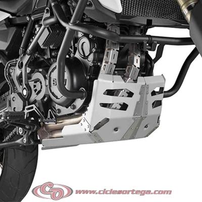 Cubrecarter aluminio RP5103 de Givi para BMW F 800 GS Adventure 2013-