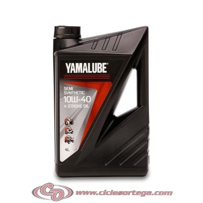 Yamalube 4 Stroke aceite semisítetico motor 4 T de Yamaha 4 litros