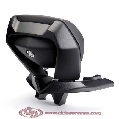 Respaldo pasajero original Yamaha TRICITY 125 2014- con costuras en negro