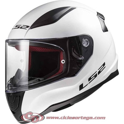 Casco integral LS2 RAPID FF353 SOLID White talla 3XL