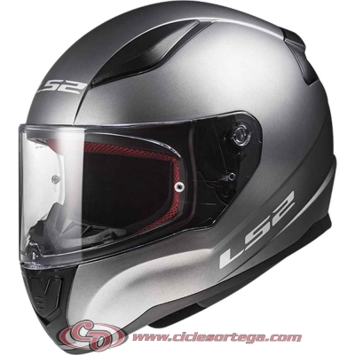 Casco integral LS2 RAPID FF353 SOLID Matt Titanium talla 3XL