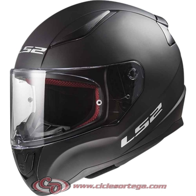 Casco integral LS2 RAPID FF353 SOLID Matt Black talla S