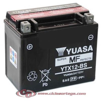 Bateria YUASA YTX12-BS Original Yamaha