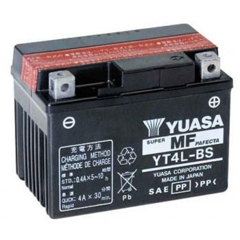Bateria YUASA YT4L-BS ACTIVADA (compatible con YTX4L-BS) Original Yamaha ENVIO 24 HORAS