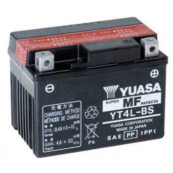 Bateria YUASA YT4L-BS (compatible con YTX4L-BS) Original Yamaha