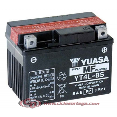 Bateria YUASA YTZ14S (compatible con YTZ12S) Original Yamaha