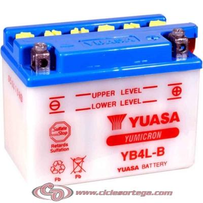 Bateria YUASA YB4L-B Original Yamaha